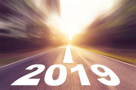 Desenfoque Vacío Carretera De Asfalto Y Concepto De Año