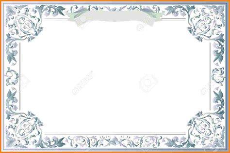 printable blank certificate templates  blank