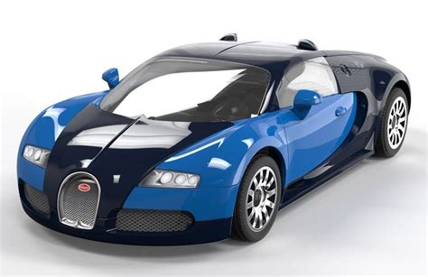 airfix quick build bugatti veyron model kit  mighty