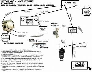Ferguson 30 Tractor Wiring Diagram