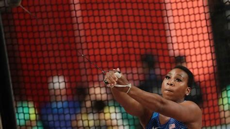 Gwen Berry Disciplined For Raising Fist At Pan Am Games