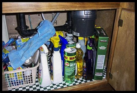 sink storage improper cabinet chemicals chemical kitchen proper cabinets bad storing tag risk does accidental precautions poisonings youngsters ones take