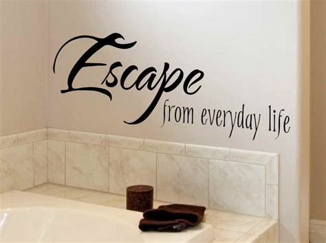 An Overview Of Bathroom Wall Decals-in Decors