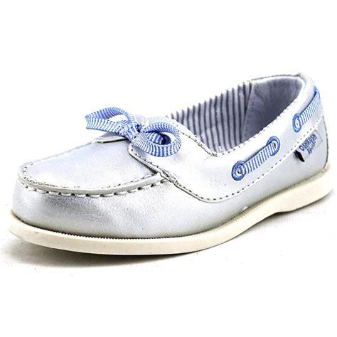 Boat Shoes Bcf by Osh Kosh Georgie G Toddler Us 10 Silver Boat Shoe Jet