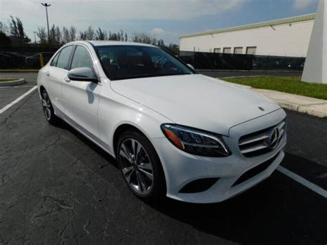 You'll receive email and feed alerts when new items arrive. 2019 Mercedes C CLASS SEDAN WHITE 2   Evolution Leasing