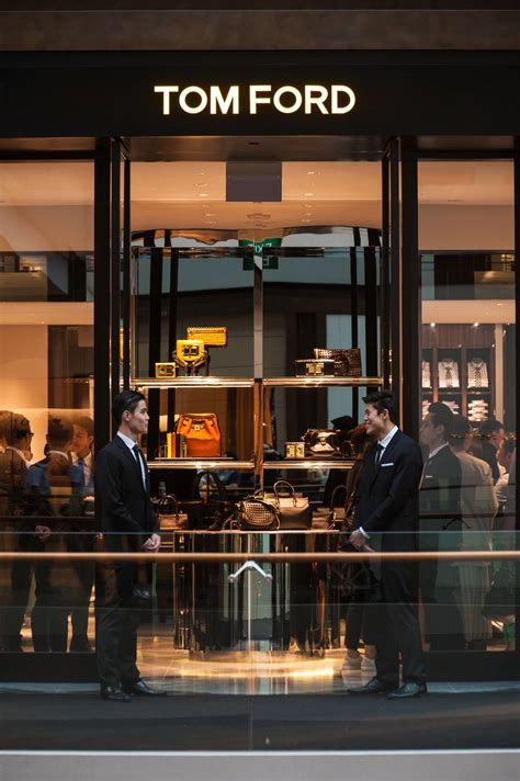 tom ford opens st store  south east asia  marina bay