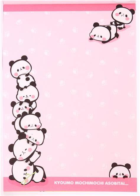 Baby Deer Baby Shower by Kawaii Yellow Panda Bears Memo Pad From Japan Memo Pads