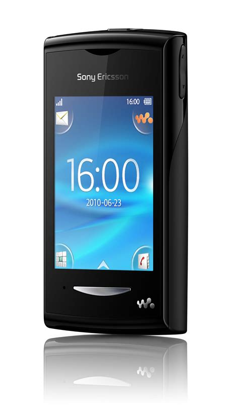 Sony Ericsson Yendo, first full touch Walkman phone
