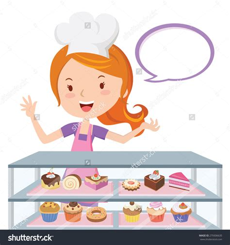 Pastry Clipart Chef With Pastries Clipart Www Imgkid The Image