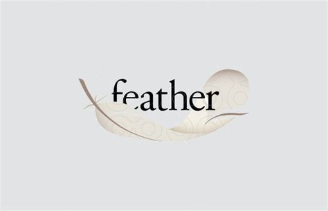 23+ Feather Logo Designs, Ideas, Examples | Design Trends