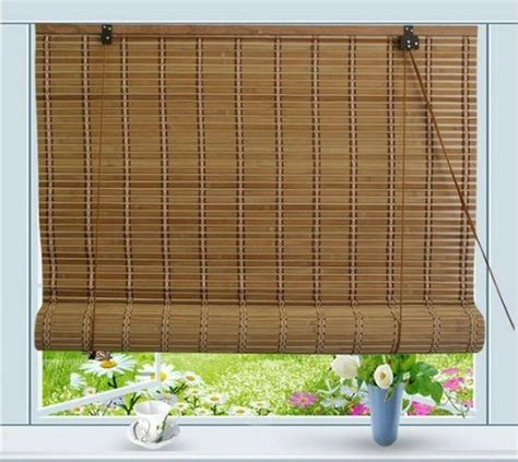 Roll Up Window Blinds by Bamboo Roll Up Window Blind Sun Shade W72 Quot X H72