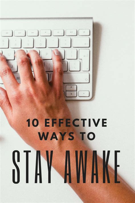 Whipple has outlined five of her favorite eating and drinking habits to sustain and keep energy up throughout the day without running to grab that expensive nitro brew or macadamia nut green tea matcha latte. 10 Effective Ways to Stay Awake Without Caffeine