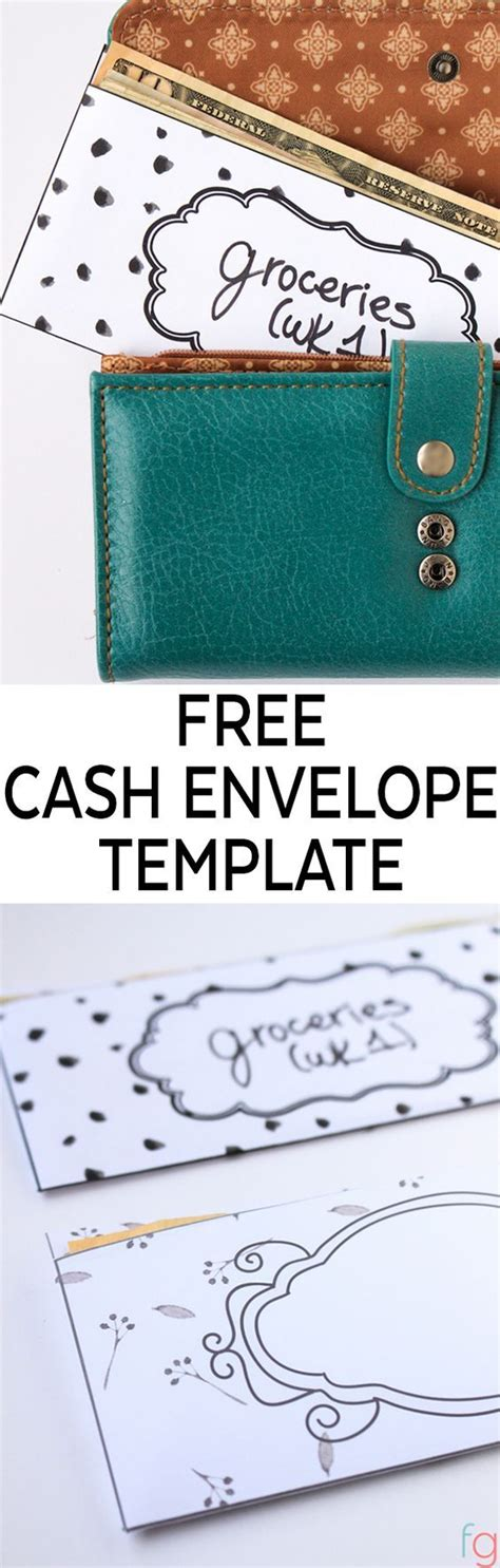 Will Template Free Budget Printables Free Envelope Template That