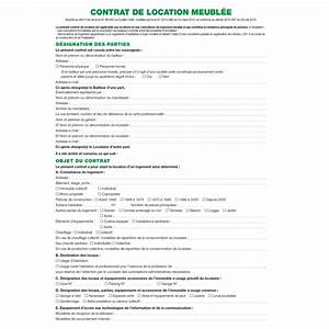contrat de location locaux meubles exacompta 51e arc With contrat de location non meuble pdf