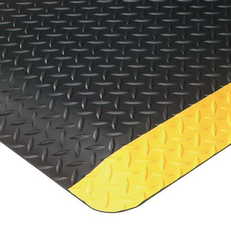UltraSoft Diamond Plate Anti Fatigue Mats are Anti Fatigue