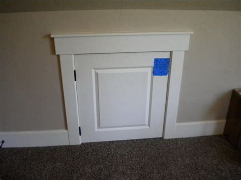 diy attic diy access panel door attic bedroom search