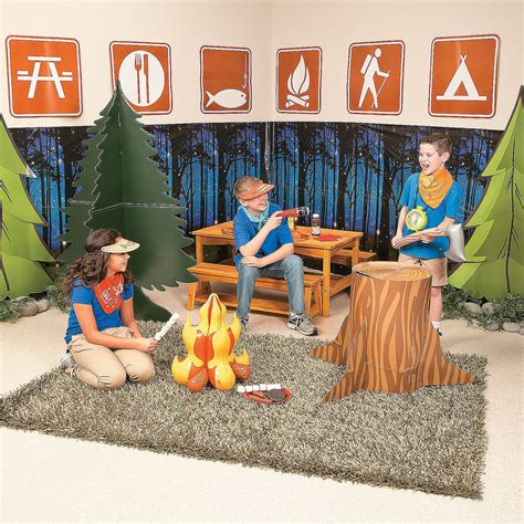 Decorating Ideas For Vbs 2015 by 2015 Vbs C Courage Setter Idea Set Up C In
