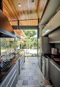 Cuisine Carreau De Ciment : d co cuisine verri re avec sol en carreaux de ciment ~ Melissatoandfro.com Idées de Décoration