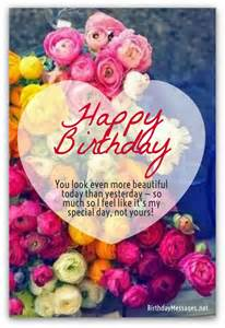 Cute Birthday Wishes Messages