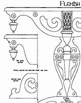 Harpsichord Drawing Template sketch template