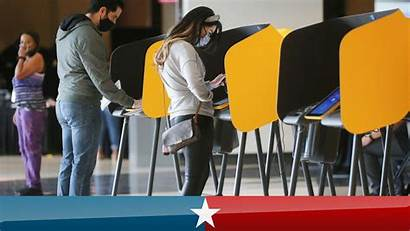 Voting Early Election Ballots Voters Ahead Cast