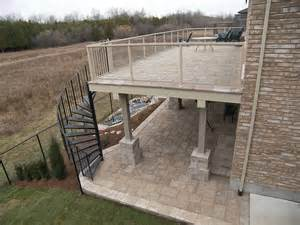 Patio Or Decking file upper level paver deck jpg wikimedia commons