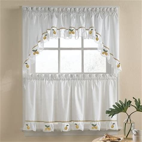 lemon kitchen curtains citrus lemon kitchen window and kitchen curtains