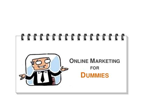 marketing for dummies marketing for dummies