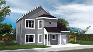 maisons lg bois oregon With maison peinte en gris