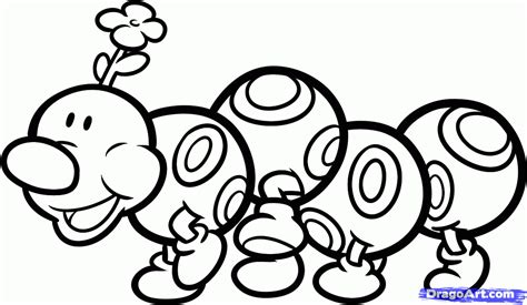 click the paper mario coloring pages paper mario coloring