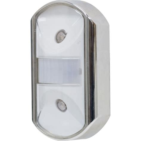 motion activated night light ge chrome motion activated led night light 11242 the