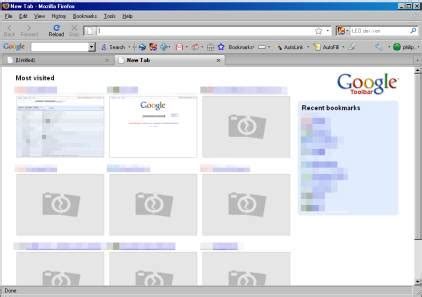 How Get Chrome New Tab Page Firefox
