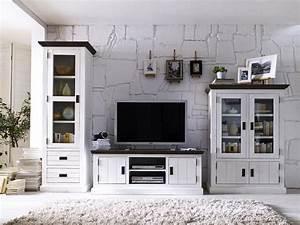 Wohnzimmermöbel Weiß Landhaus : wohnzimmerm bel massivholz ~ Sanjose-hotels-ca.com Haus und Dekorationen