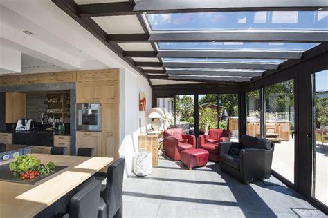 veranda extension cuisine cuisine d ete veranda