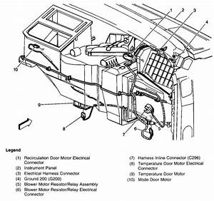 Location Of Chevy 1500 Heater Fan Speed Module