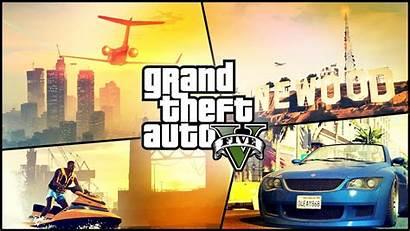 Theft Grand Games Rockstar Desktop Wallpapers Backgrounds
