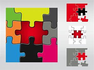 Puzzle Pieces Vector Art & Graphics | freevector.com