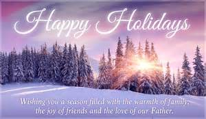 happy holidays ecard free cards