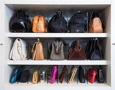 la closet design closets how to store bags how to