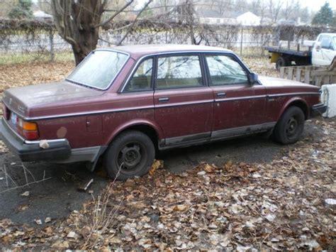 Cheap 1990 Volvo 240 Repair Or Parts Car For Sale
