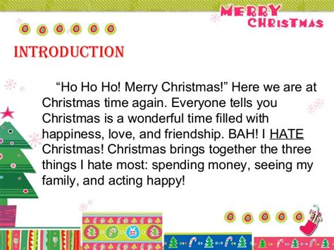 best 28 introduction speech for christmas sle