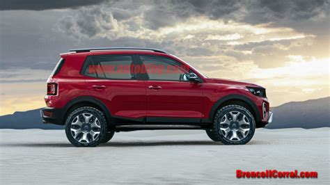 Ford Lineup 2020 by 2020 Ford Bronco Renderings Bronco Ii Corral