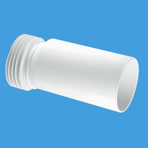 mcalpine 10mm offset pan connector extension wc extc