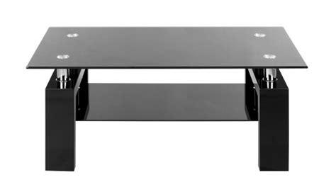 batterie de cuisine en table basse laquee noir et verre noir table basse topkoo