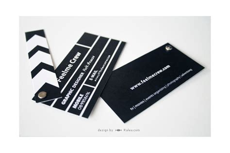 incredible film  theater business cards sitepoint