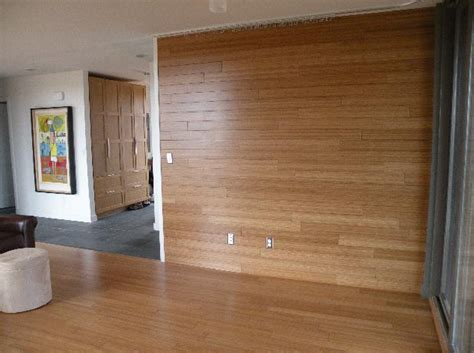 wall paneling menards decorative interior bamboo panel for