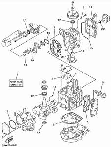 1999 Yamaha Repair Kit 1 Parts For 25 Hp F25tlrx Outboard