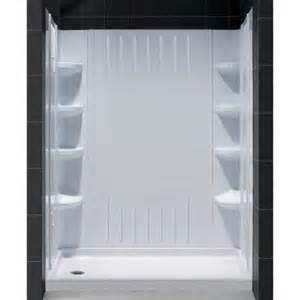 bathroom inserts home depot dreamline slimline 32 in x 60 in single threshold shower
