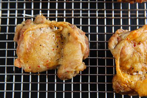 fryer thighs chicken air crispy paleomg