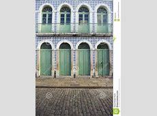 Portuguese Brazilian Colonial Architecture Azulejos Sao